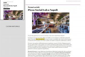 Rassegna Stampa Pizza Social Lab - Cucina Naturale