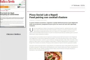 Italia a Tavola - Pizza Social Lab