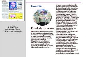 Pizza Social Lab - Il Mattino