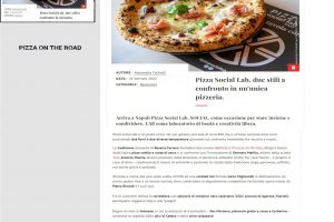 Pizza Social Lab - Pizza on the Road