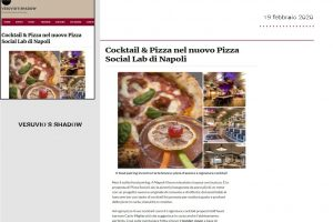 Vesuvio's Shadow - Pizza Social Lab