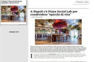 Rassegna Stampa Pizza Social Lab - Viaggi Off